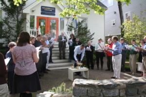 Translators' Tea Lhasang, Halifax, May 2010.