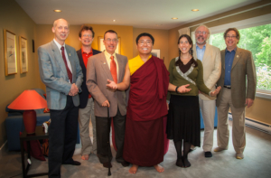 Meeting with Tsoknyi Rinpoche in Halifax, Summer 2012. Photo by Marvin Moore.