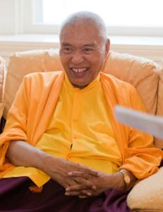 Namkha Drimed Rinpoche. Photo by Marvin Moore
