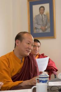 Lama Ngodup Dorji. Photo by Marvin Moore