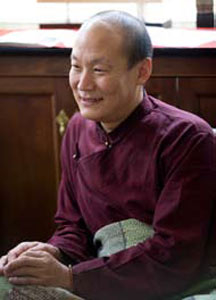 Lama Ngodup Dorji. Photo by Marvin Moore.