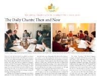 Annual Newsletter 2010